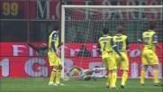 Thiago Silva segna dal limite la rete dell'1-0 al Chievo