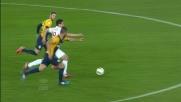 Hernanes se ne va in dribbling solo contro tutti al Bentegodi di Verona