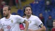Toni accorcia le distanze segnando un goal di testa al Genoa