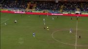 Curci alza il tiro di Marco Rossi sopra la traversa nel derby di Genova