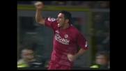 Lucarelli non ci sta, goal dell'1-1 contro il Palermo