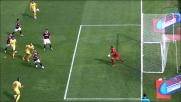 Ferrari salva sulla linea e nega un goal facile a Longo