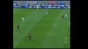 Cagliari vicino al goal, ma Bonera salva il Milan