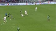 Defrel in tackle atterra Kucka: doppio giallo ed espulsione per l'attaccante del Sassuolo