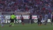 Il tiro potente di Fernandes batte Brkic e finisce in goal