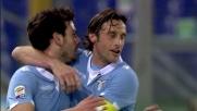Parolo realizza il vantaggio della Lazio con un inserimento dei suoi