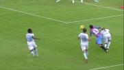 Dias colpisce la palla con il braccio e regala un rigore agli etnei