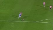 Felipe Anderson tutto solo realizza il goal del 3-0 biancoceleste a Palermo