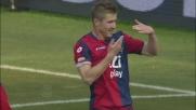 Padelli esce a vuoto e Kucka di testa fa gioire il Genoa. è il goal vittoria!