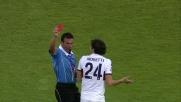 Moretti stende Ibarbo in tackle e lascia il Genoa in 10 a Cagliari