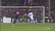 Il gran tiro di Vrsaljko colpisce il palo del Torino
