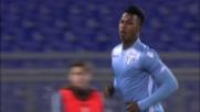 Keita finalizza in goal il contropiede della Lazio contro il Verona