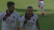 Da calcio di punizione Paulinho regala un goal bellissimo al Livorno