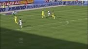 Zarate da posizione defilata sigla il goal vittoria al Bentegodi contro il Chievo