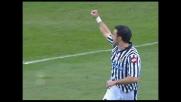 Il tap-in al volo di Quagliarella vale il goal del pareggio in Udinese-Catania