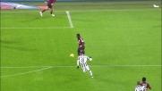 Diego Lopez salva il Milan parando un insidioso mancino di Marchisio