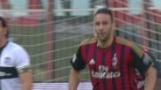 Rami accorcia le distanze dal Parma segando una rete di testa su cross da corner