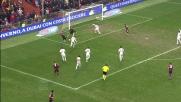 Paloschi deposita in rete e segna il goal vittoria al Marassi contro la Roma
