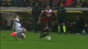 El Shaarawy salta tre giocatori del Parma sulla fascia laterale