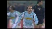La Lazio accorcia le distanze sul Lecce con il goal di Rocchi