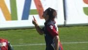 Matri apre le marcature al Sant' Elia contro il Palermo