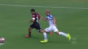 Super parata di Berisha su Sau! L'Atalanta si difende come può contro il Cagliari