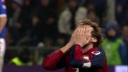 La traversa di Rossi contro la Sampdoria nel derby