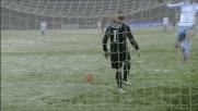 Disimpegno di Gillet sulla neve in Torino-Lazio