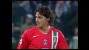 Ibra inventa nonostante il pressing della Lazio