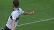 """Parolo la tocca """"piano"""" da punizione e segna il goal vittoria contro il Milan"""