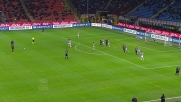 Tanta potenza ma poca precisione per il calcio piazzato di Hernanes contro l'Udinese