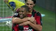 Robinho e Ronaldinho confezionano il goal del definitivo 3-1 sul Chievo