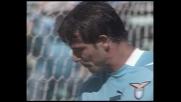 Stankovic sbaglia un facile colpo di testa contro il Parma