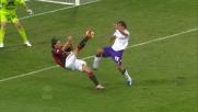 Con un colpo acrobatico Ibrahimovic realizza il goal vittoria contro la Fiorentina e strega San Siro