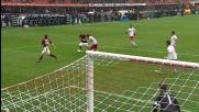 Insuperabile Gillet, il Milan vicino al goal con Abate