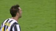 Vucinic, controllo e traversa contro il Milan