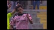 Gran goal di Amauri per il 2-3 del Palermo contro il Genoa