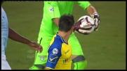 Pellissier spreca un'occasione per il Chievo e la Lazio ringrazia