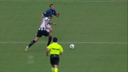 Udinese in vantaggio contro l'Inter con il bel goal di Danilo