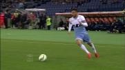 Martic sceglie la via più breve e ferma Felipe Anderson in calcio d'angolo