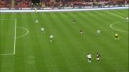 Pato chiude in goal una bella azione contro l'Atalanta