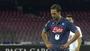 Higuain segna su rigore il sesto goal al Verona