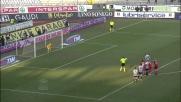 Di Natale dal dischetto firma il goal del vantaggio dell'Udinese contro il Bari
