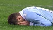 All'Olimpico di Roma Klose mette il turbo ma incrocia troppo il tiro che termina sul fondo