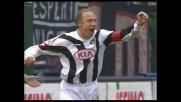 Goal da due passi di Sensini, Udinese avanti a Cagliari
