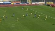 Izco infila Berisha con un gran destro al volo: goal del vantaggio per il Catania sulla Lazio