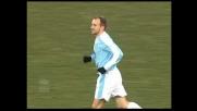 Rocchi anticipa De Sanctis, la Lazio segna il goal che sblocca la sfida con l'Udiense