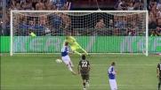 Cassano infallibile dal dischetto: goal del vantaggio per la Sampdoria sulla Lazio
