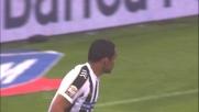 Il palo punisce il tiro di Muriel: goal mancato per questione di centimetri contro la Roma