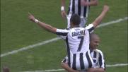 Sanchez, freccia bianconera, realizza un altro goal al Barbera